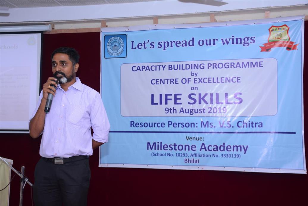 CAPACITY BUILDING PROGRAMME BY CENTRE OF EXCELLENCE ON LIFE SKILLS
