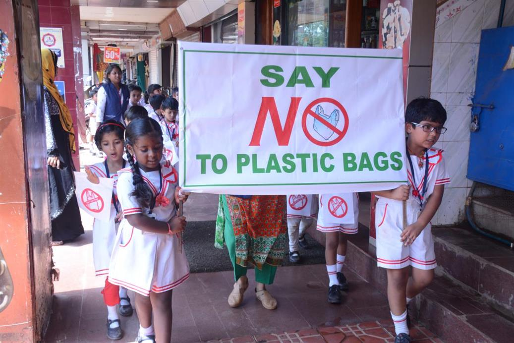 "Say ""NO"" to Plastic Bags"