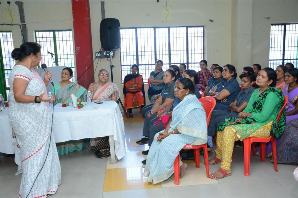 "Workshop on ""CARING & BEING ALERT TOWARDS CHILD SAFETY"" for the Support Staff"